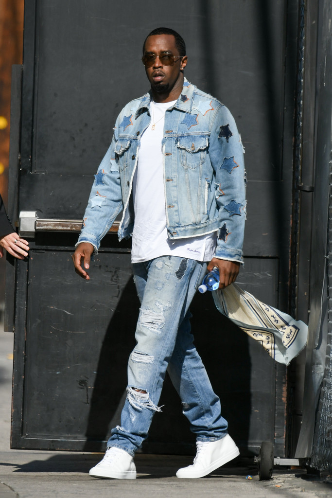 P Diddy Arrives At Jimmy Kimmel Live 1 Of 66 Zimbio