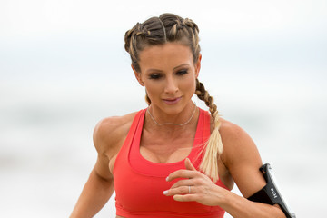 Paige Hathaway Paige Hathaway on the Beach in Santa Monica