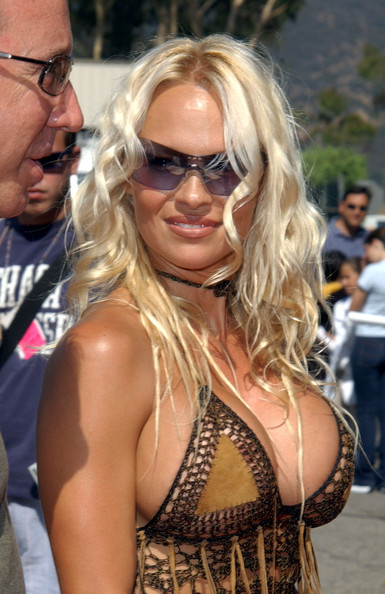 Pamela Anderson - The 2002 Teen Choice Awards - Arrivals