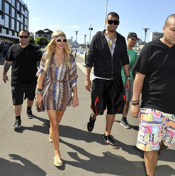 Paris+Hilton in Paris Hilton on Bondi Beach