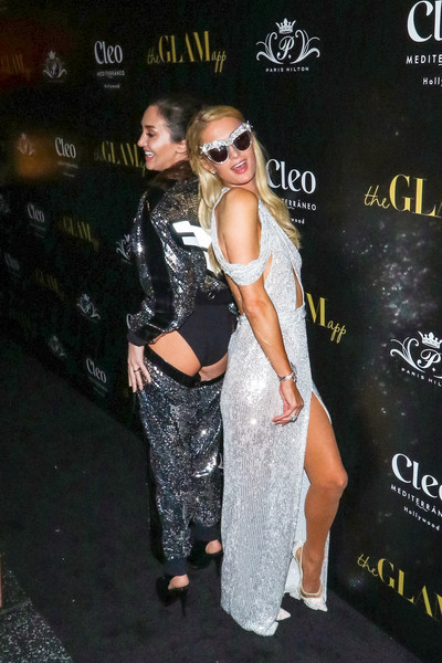 Paris Hilton + The Glam App Partnership Event
