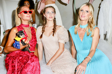 Paris Hilton Nicky Hilton Alice And Olivia by Stacey Bendet Presentation at NYFW