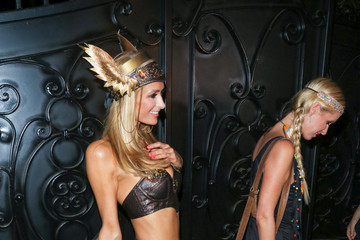 Paris Hilton Celebrities Attend the Casamigos Tequila Halloween Party