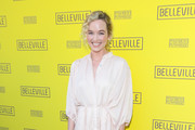 Kelley Jakle is seen attending the opening night of 'Belleville' at the Pasadena Playhouse in Los Angeles, California.
