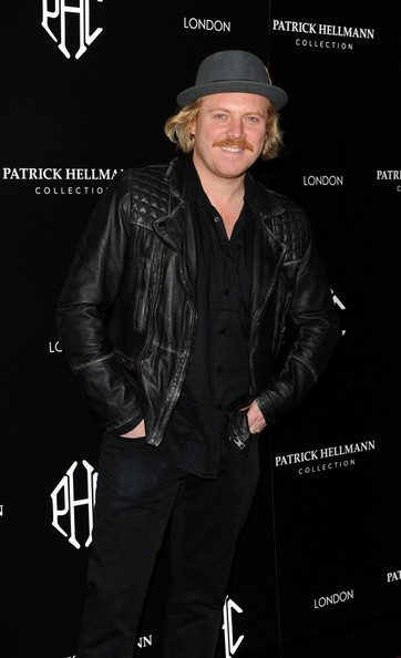 14th March 2013. The Patrick Hellmann store launch party, 50 St James Street, London.Here, Leigh Francis.