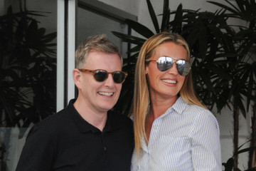 Patrick Kielty Cat Deeley Jokes Around With Her Husband