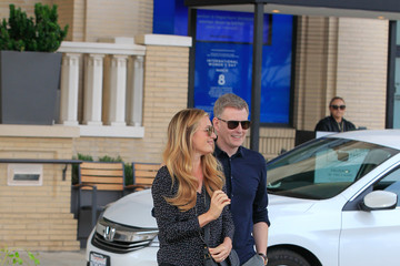 Patrick Kielty Cat Deeley and Patrick Kielty Go Shopping