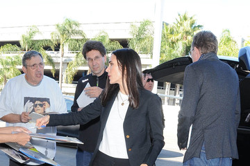 Paul Bettany Jennifer Connelly Is Seen at LAX