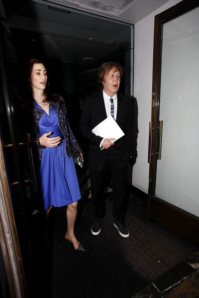 Paul McCartney - Celebs Spotted at Cecconi's Restaurant