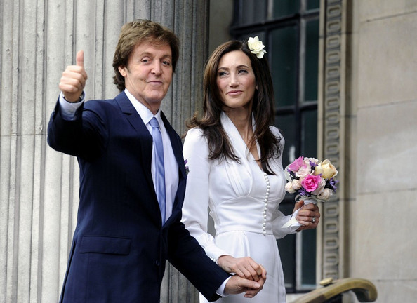 Paul McCartney and Nancy Shevell Get Married 2