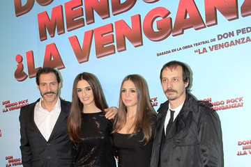 Fele Martinez Celebs at the Premiere of 'Don Mendo Rock La Venganza'