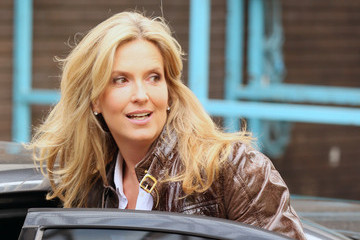 Penny Lancaster Rod Stewart and Penny Lancaster at ITV Studios