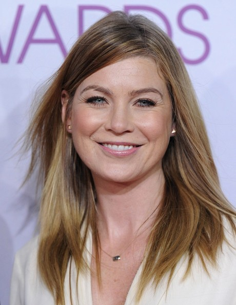 People's Choice Awards 2013..Nokia Theatre L.A. Live, Los Angeles, CA..January 9, 2013..Job: 130109A1..(Photo by Axelle Woussen)..Pictured: Ellen Pompeo.