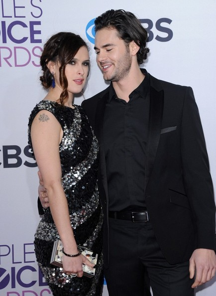 People's Choice Awards 2013..Nokia Theatre L.A. Live, Los Angeles, CA..January 9, 2013..Job: 130109A1..(Photo by Axelle Woussen)..Pictured: Rumer Willis and Jayson Blair..