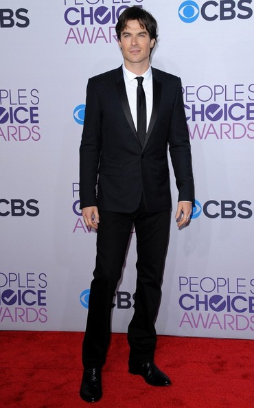 People's Choice Awards 2013..Nokia Theatre L.A. Live, Los Angeles, CA..January 9, 2013..Job: 130109A1..(Photo by Axelle Woussen)..Pictured: Ian Somerhalder.