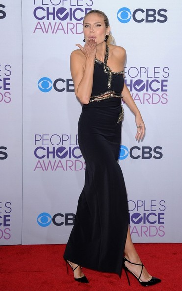 People's Choice Awards 2013..Nokia Theatre L.A. Live, Los Angeles, CA..January 9, 2013..Job: 130109A1..(Photo by Axelle Woussen)..Pictured: Heidi Klum.