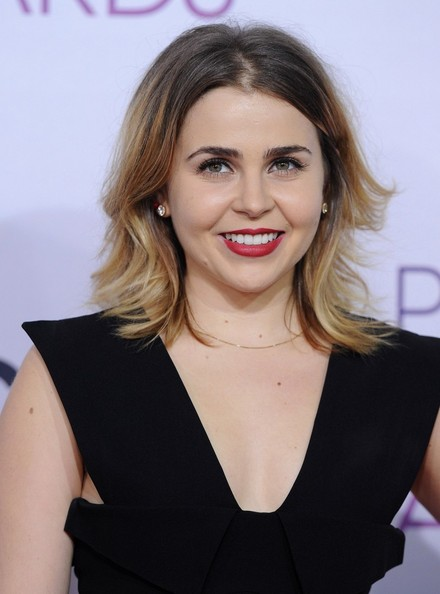 People's Choice Awards 2013..Nokia Theatre L.A. Live, Los Angeles, CA..January 9, 2013..Job: 130109A1..(Photo by Axelle Woussen)..Pictured: Mae Whitman.