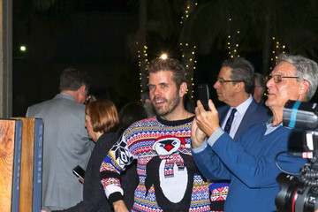 Perez Hilton Perez Hilton Is Seen Outside The 'Come From Away' Opening Night At Ahmanson Theatre