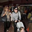 Angela Hudson Katy Perry and Russell Brand Arrive at the Jaipur Airport
