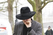 Pete Doherty Heads to a Meeting