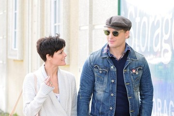 Peter Facinelli Peter Facinelli and Jaimie Alexander Out and About