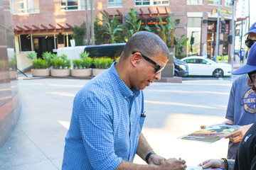 Peter Ramsey Peter Ramsey Is Seen Outside DGA Theatre In West Hollywood