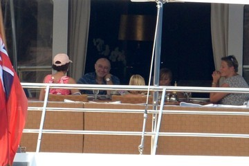 Phil Collins Phil Collins on a Yacht