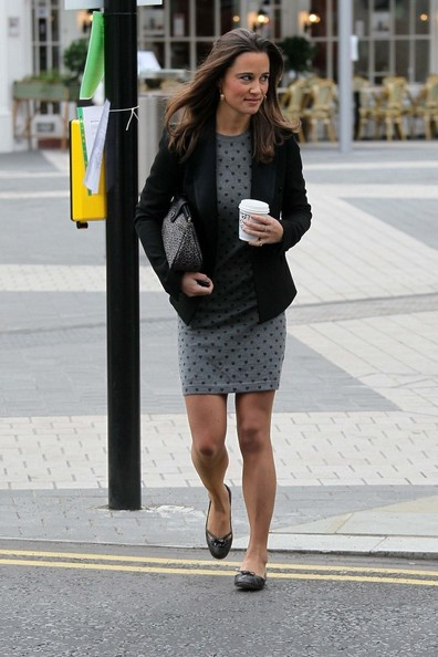 Pippa Middleton - Pippa Middleton Heads to Work