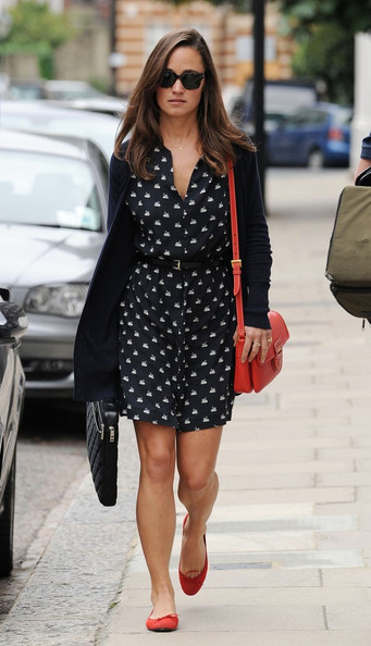 Pippa Middleton - Pippa Middleton in Kensington