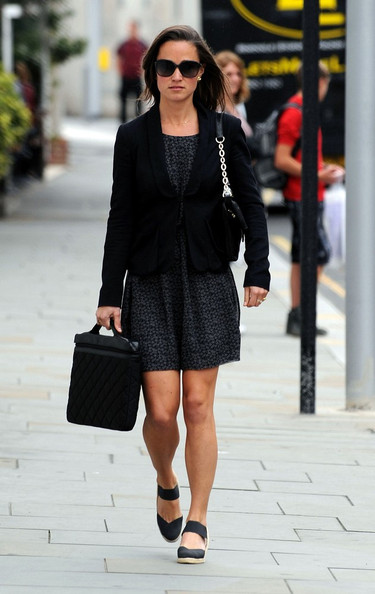 Pippa Middleton - Pippa Middleton Leaves the Office