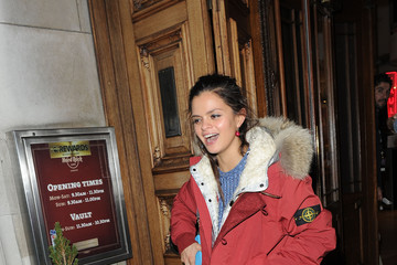 Pixie Lott Pixie Lott Heads to Tape after Performing at the Hard Rock