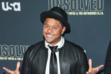Pooch Hall Premiere Of USA Network's 'Unsolved: The Murders Of Tupac And The Notorious B.I.G.'