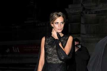 Poppy Delevingne Alexander McQueen Savage Beauty Afterparty
