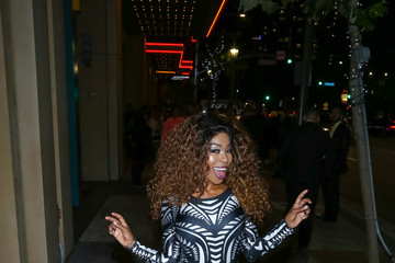 Porscha Coleman Celebrities Outside the 'Sleepless' Premiere