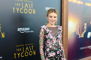 Bar Paly is seen arrives at the Premiere Of Amazon Studios' 'The Last Tycoon' at the Harmony Gold Preview House and Theater in Los Angeles, California.