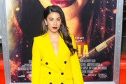 Chrissie Fit is seen attending the premiere of Columbia Pictures' 'Miss Bala' at Regal LA Live Stadium 14 in Los Angeles, California.