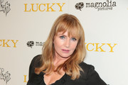Rebecca De Mornay is seen arriving for the premiere of Magnolia Pictures' 'Lucky' held at Linwood Dunn Theater in Los Angeles, California.