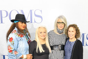Pam Grier, Jacki Weaver, Rhea Perlman and Diane Keaton are seen attending the premiere of STX's 'Poms' at Regal LA Live in Los Angeles, California.