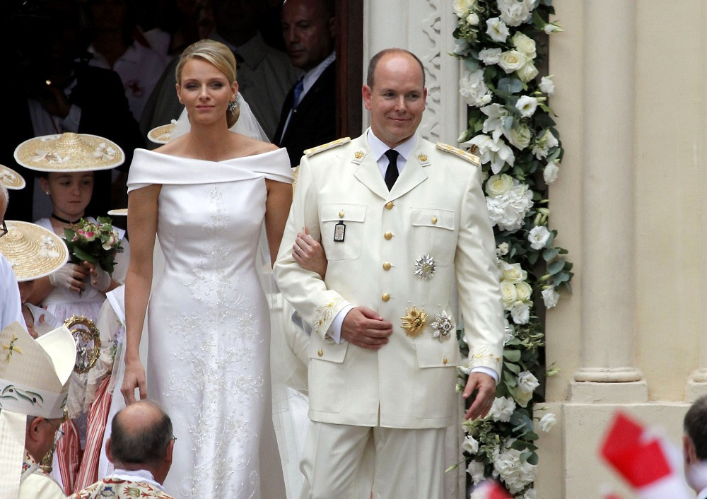 Rare photos into Grace Kellys Prince of monaco wedding pictures