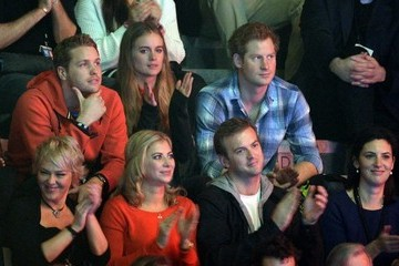 Prince Harry Prince Harry and Girlfriend at an Event in London
