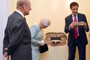 Prince Philip Queen Elizabeth II Visits Chatham House