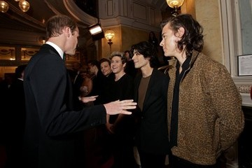 Prince William Celebs at the Royal Variety Performance — Part 2