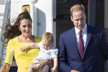 Prince William The Royal Family Lands in Sydney