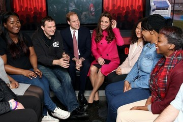 Prince William Prince William and Catherine Support Development Opportunities For Young People