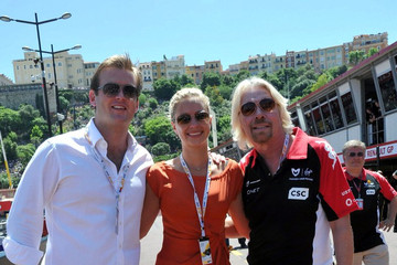 Fred Andrews Celebs at the Monaco Grand Prix