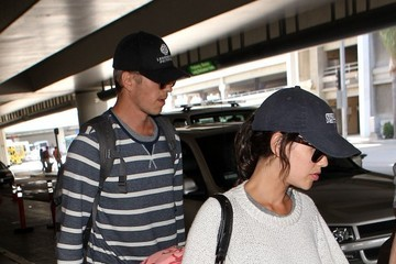 Rachel Bilson Rachel Bilson and Hayden Christensen at LAX