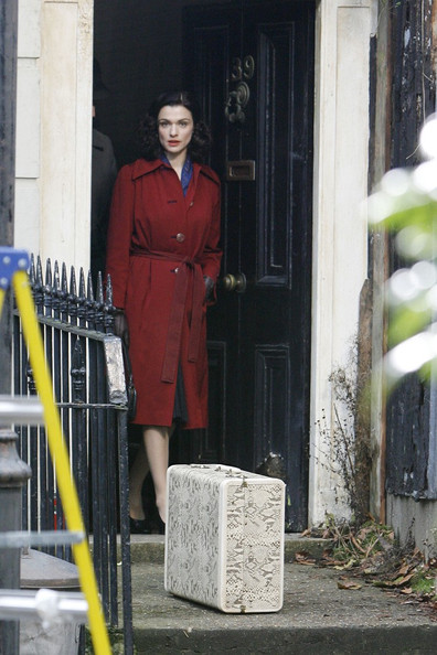 Rachel Weisz looks lovely while filming her latest film 'Deep Blue Sea.'.