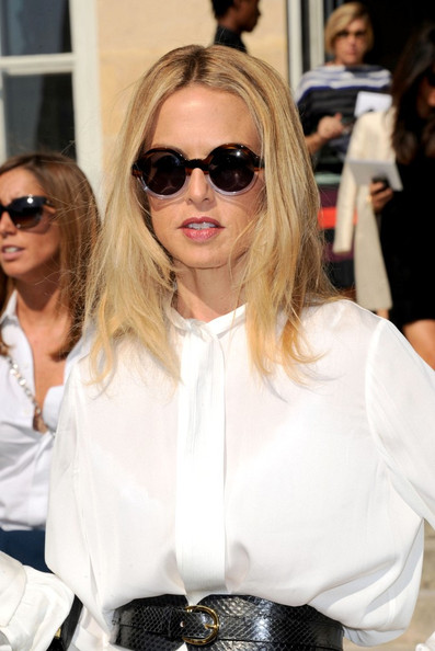 Rachel Zoe Christian Dior Spring/Summer 2012 Ready-to-Wear at the Rodin Museum during Paris Fashion Week.