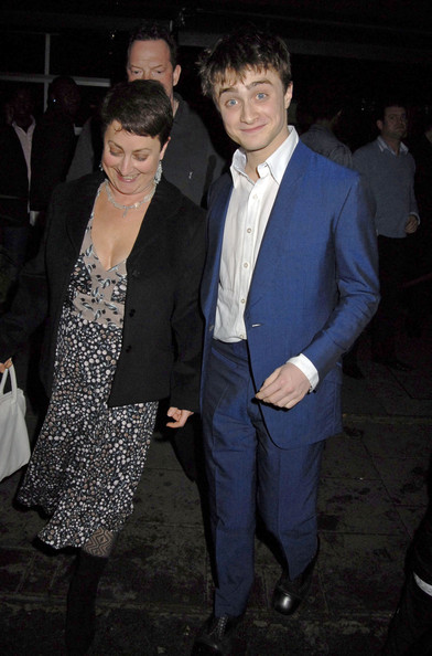 Daniel Radcliffe with His Mom