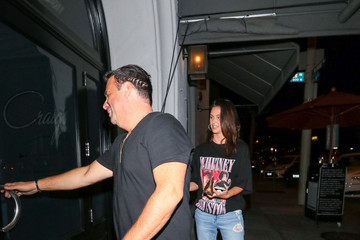 Randall Emmett Celebs Outside Craig's Restaurant In West Hollywood